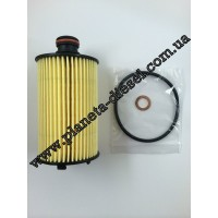 Фильтр масляный (D20F, D20R)(без медной шайбы)