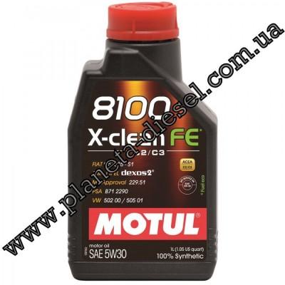 Motul 8100 X-clean FE 5w30 (1л.)