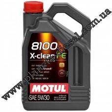 Motul 8100 X-clean FE 5w30 (5л.)