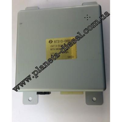 Блок управления положения сидения c памятью - 8731008B00